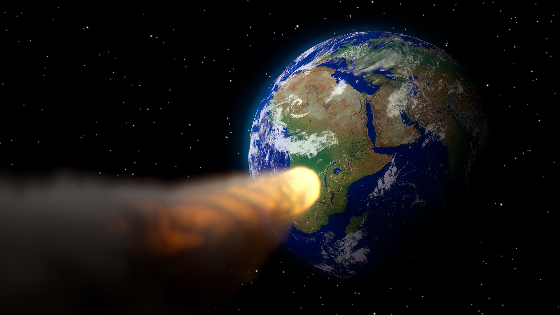 how many asteroids are on a potential collision course with earth?