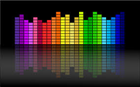 colorful equalizer